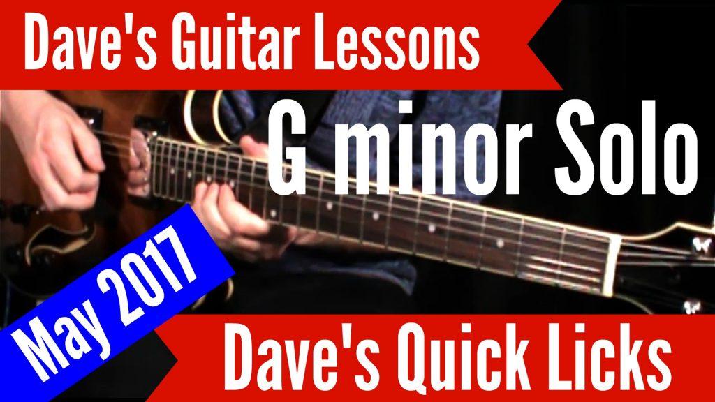 G minor